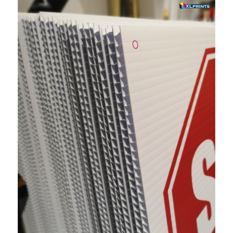10mm WHITE COROPLAST - direct print