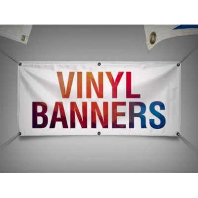13oz Matte Vinyl Banner (Free Shipping)