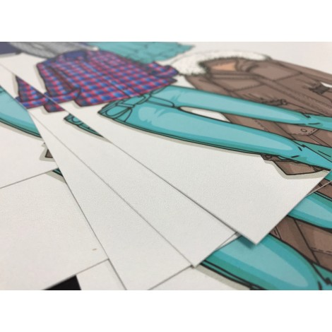 24pt CARD STOCK - direct print