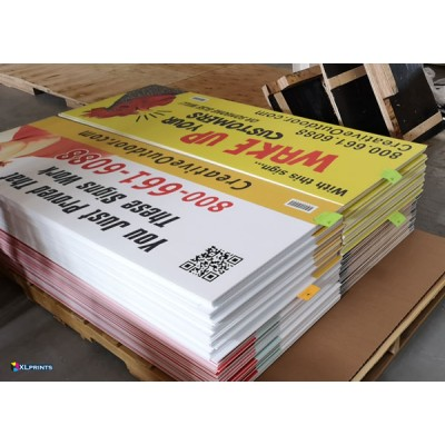 4mm COROPLAST - uv direct print ( 5+ sheets,  online order only)