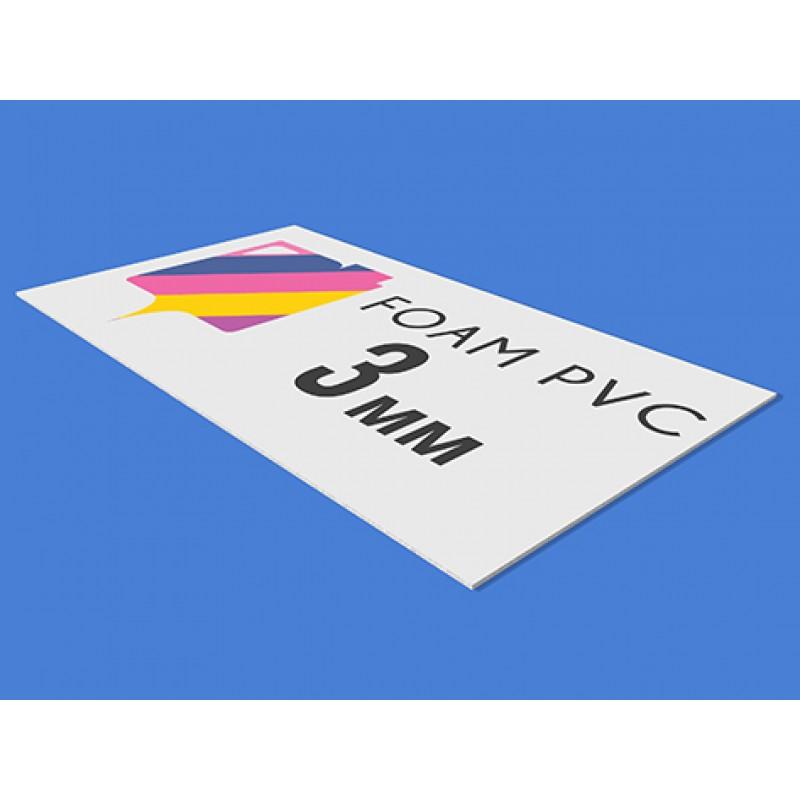 3mm PVC - direct print