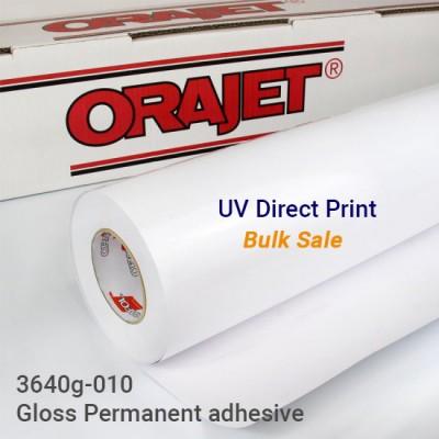 ORAJET 3640g-010 white vinyl (400+ sqft, online order only)
