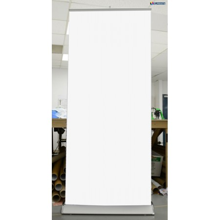 Premium Stand with Decolit Material Print 33.5x80 Roll Up