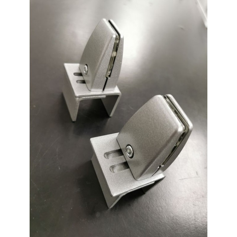 Office cubicle Barrier clamp brackets
