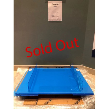 Sneeze Guard Clearance Sale - Please come to our front door