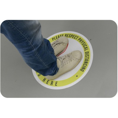 Floor Graphics - 3M IJ40 removable vinyl with 3M 8509 anti-slip lamination