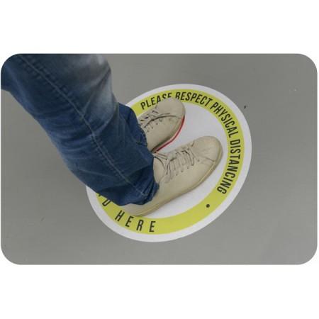 Floor Graphics - 3M IJ40 removable vinyl with 3M 8509 anti-slip lamination
