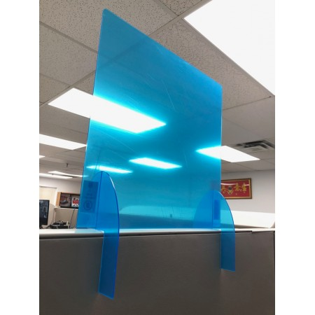 """Office Cubicle Barrier 24"""" height"""