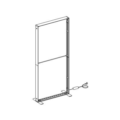 SEG LED system 100*200cm (39x79inch) - frame only