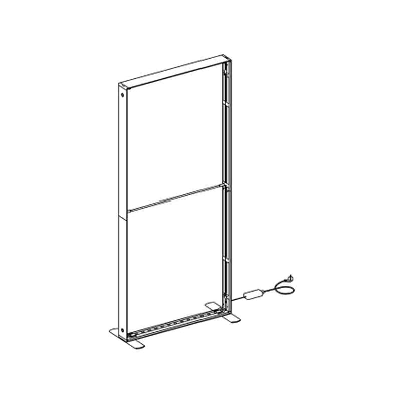 SEG LED system 100*150cm (39x59inch) - frame only