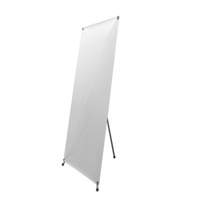 Adjustable X - Stand Banner with Hardware 33.5x79
