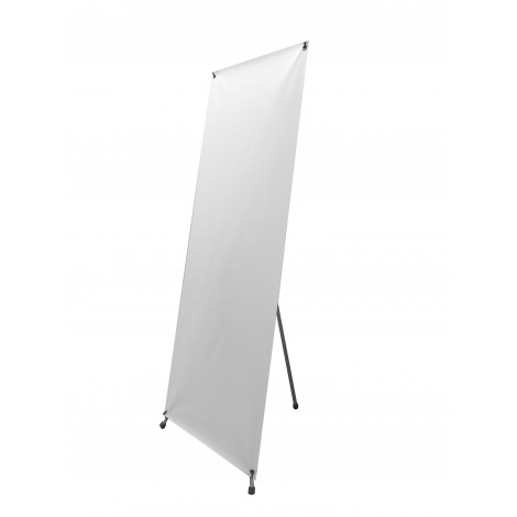 Adjustable X - Stand Banner with Hardware 24x63